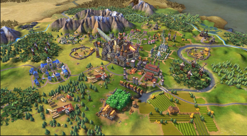Civilization VI is a strategy game for the PC. It was released for free by the Epic Games Store. (Firaxis Games)