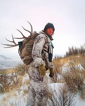 Jason Verbeck, a hunting guide who lives in Brewster and Spokane, has been selected as one of 40 hunters from across the country to participate in a deer hunting contest in which no deer are killed.