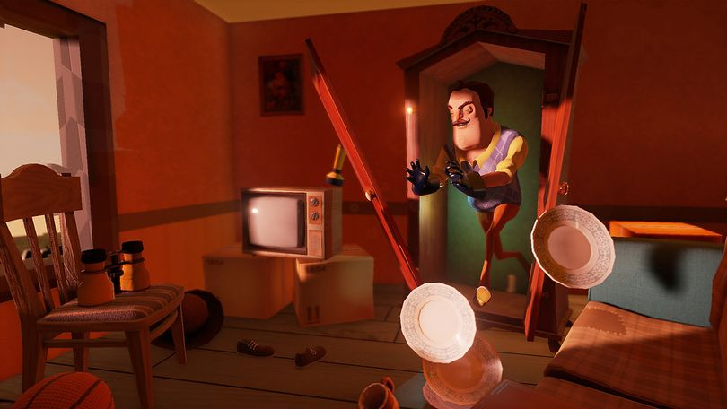 Hello Neighbor is an indie stealth horror video game developed by Dynamic Pixels.  (Flickr)