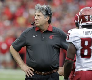 Mike Leach is Associated Press' Pac-12 coach of the year.