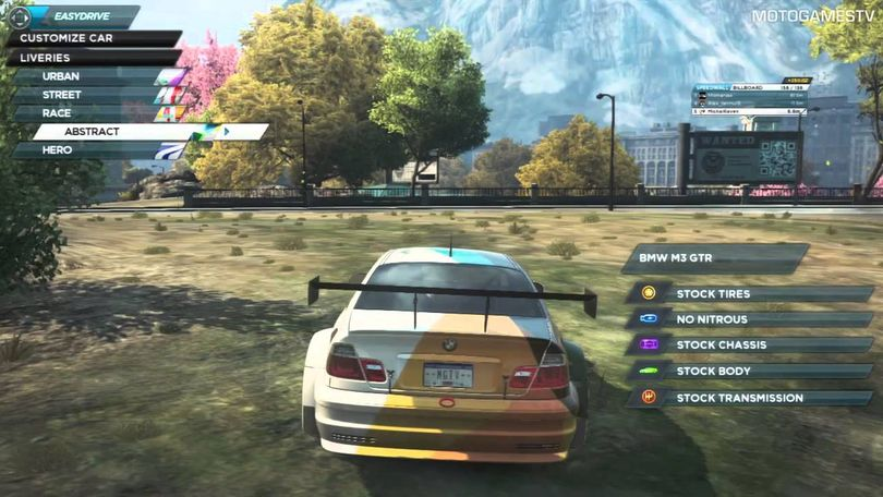 Need for Speed: Most Wanted (2012) took features from the developer's