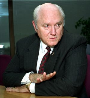 Jack Ward Thomas was selected by the Clinton administration in 1993 to head the U.S. Forest Service. (Associated Press)