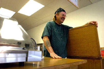 Dan Housam decided to open a hot dog shop in Post Falls.   (Jesse Tinsley / The Spokesman-Review)