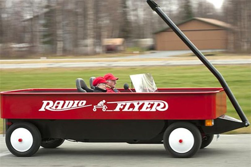 Michael Dinneen/AP  Little Red Wagon of Wasilla, Alaska