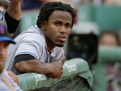 A sore calf landed Jose Reyes on the disabled list. (Associated Press / The Spokesman-Review)