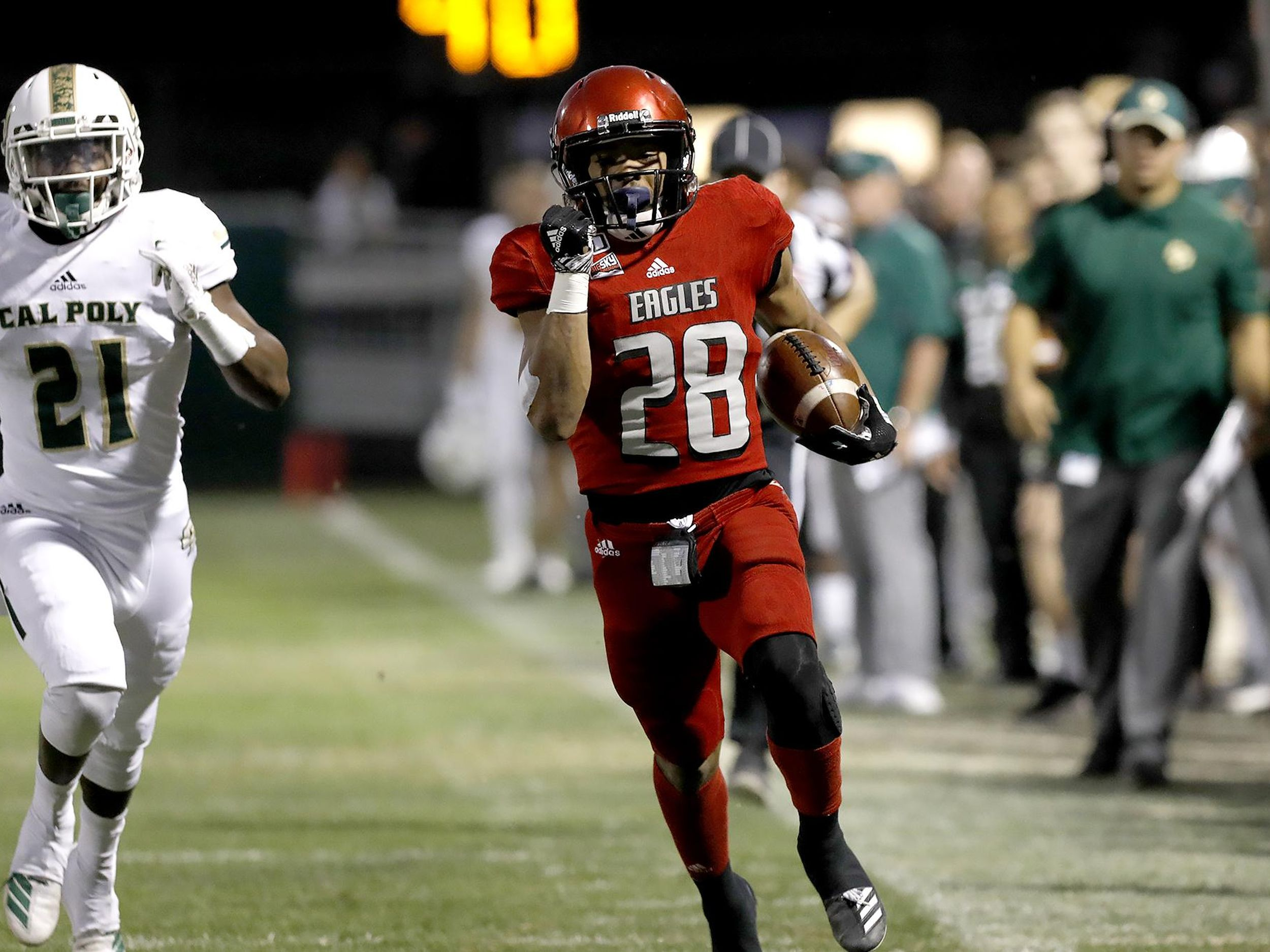 Eastern Washington Avoids Road Upset As Cal Poly Misses Winning Field Goal Attempt The Spokesman Review