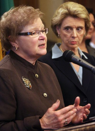 Retiring Washington Health Secretary Mary Selecky spent 34 years in public health. (Associated Press)
