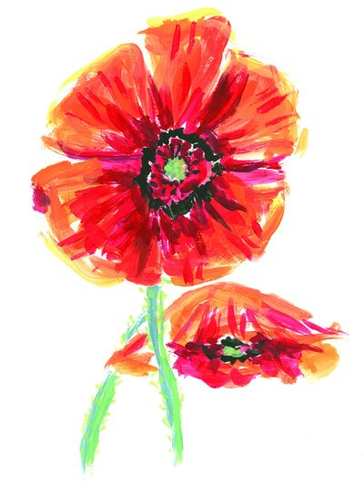 Poppies are some of the flowers featured in the board game Blossoms by Rebel.  (The Spokesman-Review archive)