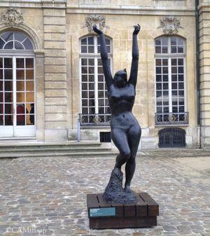 "Ivan Mestrovic's ""Supplicant Persephone"" at the Musée Rodin in Paris (Cheryl-Anne Millsap / photo by Cheryl-Anne Millsap)"