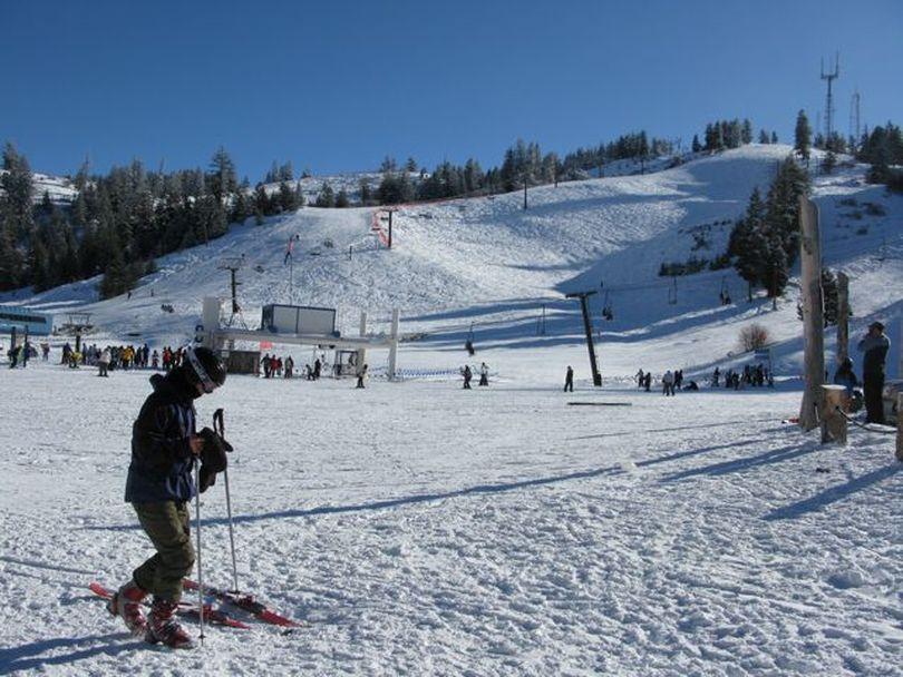 Bogus Basin ski area, 12/23/09 (Betsy Russell)