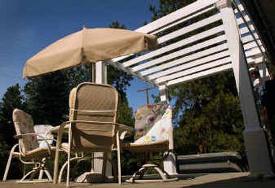 Pergolas are economic yet classic, and they provide a great place to be outdoors. Pergolas are economic yet classic, and they provide a great place to be outdoors.   (File/File/ / The Spokesman-Review)
