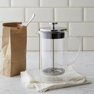 Your French press isn't just for coffee. You also can use it to brew tea.  (Williams Sonoma)
