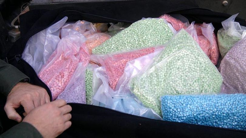 These Ecstasy pills were seized Oct. 18 near Curlew, Wash. No arrests have been made. (U.S. Border Patrol)