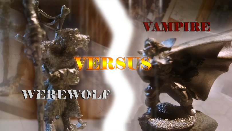 Vampire vs Werewolf