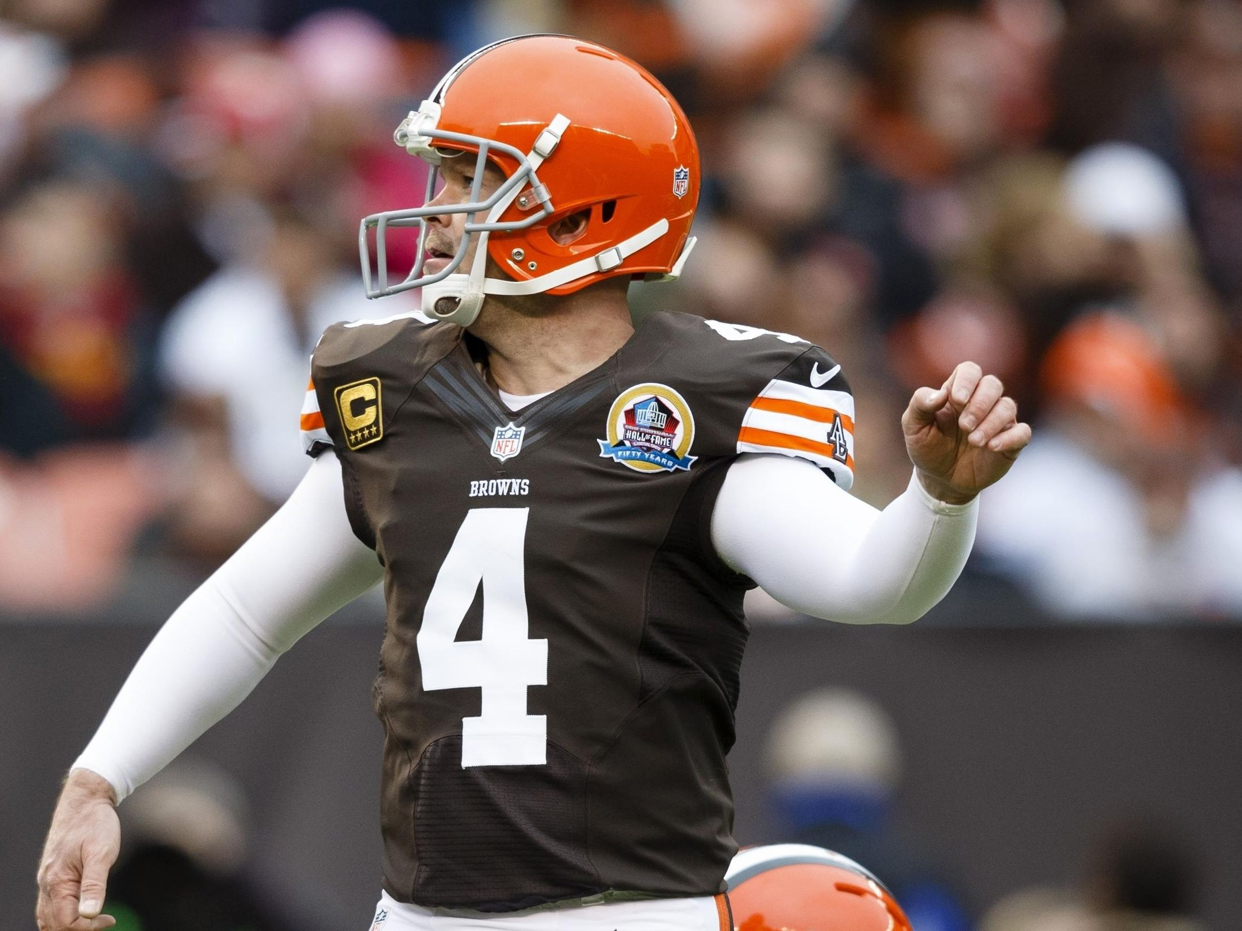 Kicker Phil Dawson, 44, retiring with Browns after 20 years   The ...