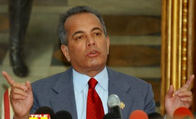 Manuel Rosales stepped down last month as mayor of Maracaibo, Venezuela's second-largest city.  (FileAssociated Press / The Spokesman-Review)