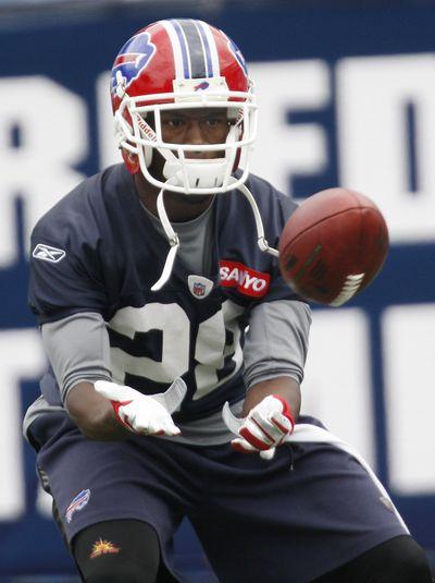 Bills cornerback Leodis McKelvin won't press charges.  (Associated Press / The Spokesman-Review)