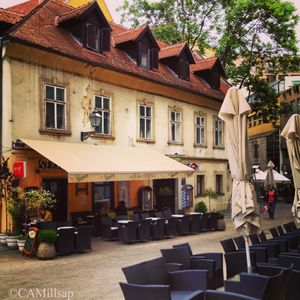 Coffee house in old section of Zagreb, Croatia (Cheryl-Anne Millsap / Photo by Cheryl-Anne Millsap)