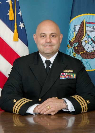 The U.S. Navy has taken Lance Denham far from the Spokane area, but his retains a fondness for his old stomping grounds as well as an enthusiasm for military service, as the new executive officer of Naval Base Kitsap. (Courtesy)