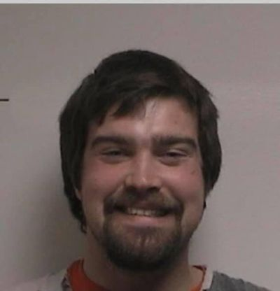 Grayson D.W. Morris, 26, is accused of killing his father in Ritzville and exchanging gunfire with state police in Oregon during a pursuit. (Adams County Sheriff's Office)