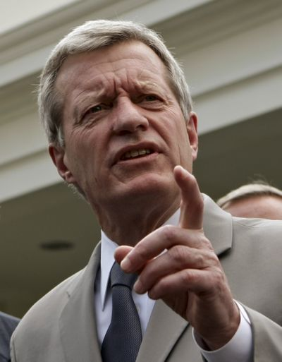 Sen. Max Baucus, D-Mont., heads the Senate Finance Committee.  (File Associated Press / The Spokesman-Review)
