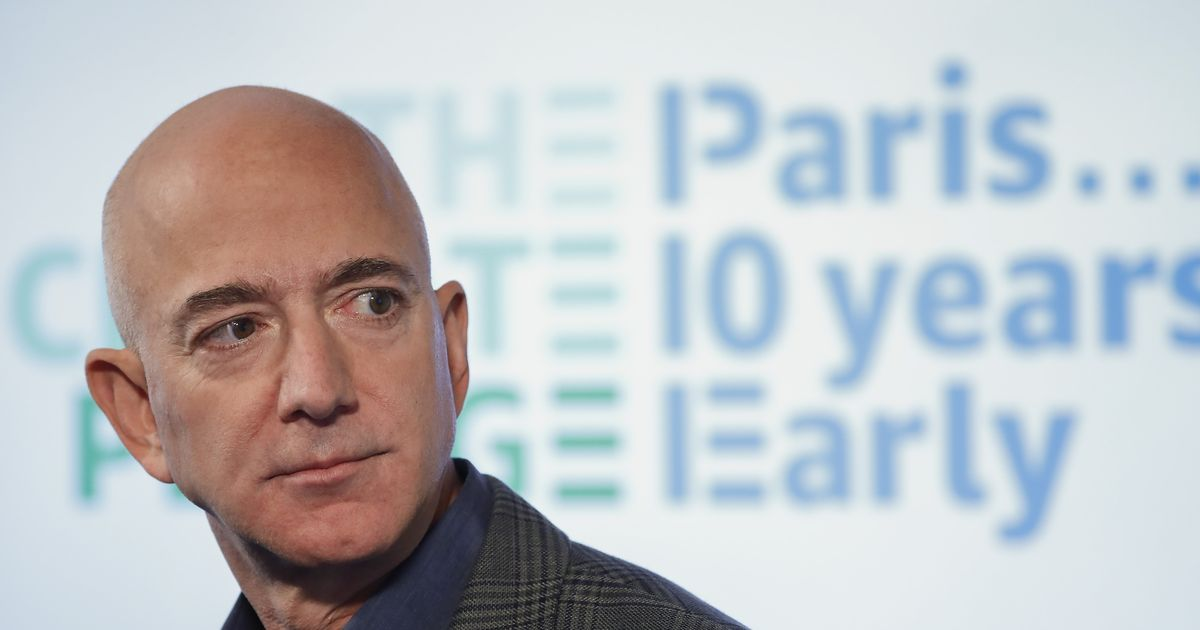 Jeff Bezos will blast into space on rocket's 1st crew flight