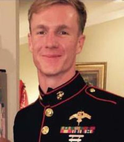 Dietrich Schmieman, pictured here, was identified as one of the Marines who died Monday in a plane crash in Mississippi that killed 15 others. (Facebook / Courtesy of Facebook)