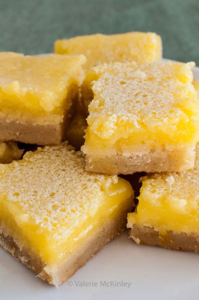 Among a variety of desserts, you can make lemon bars with this infused lemon curd filling.  (Valerie McKinley)