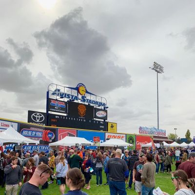 The Inland Northwest Craft Beer Festival at Avista Stadium. (Greg Wildermuth/For The Spokesman-Review)
