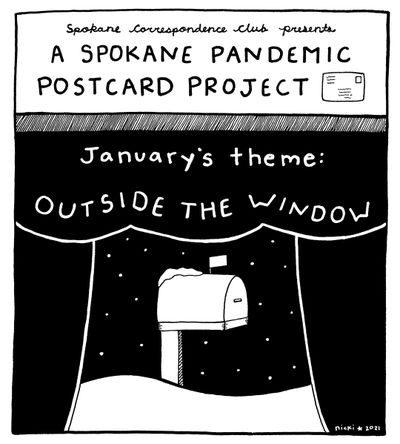 Spokane Pandemic Postcard Project  (Nicki T)