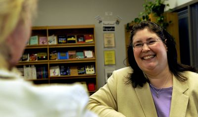 Gail Laferriere is  director of career services at North Idaho College Career Services Center. (Kathy Plonka / The Spokesman-Review)