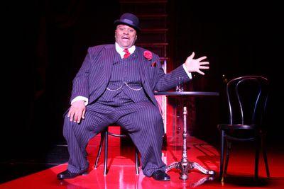 "Ruben Studdard stars as Fats Waller in Best of Broadway's production of ""Ain't Misbehavin.' ""  Best of Broadway Spokane (Best of Broadway Spokane / The Spokesman-Review)"