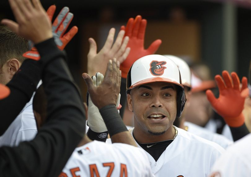 Nelson Cruz, former Baltimore Orioles slugger, feels his power will translate to Seattle's Safeco Field just fine. (Associated Press)