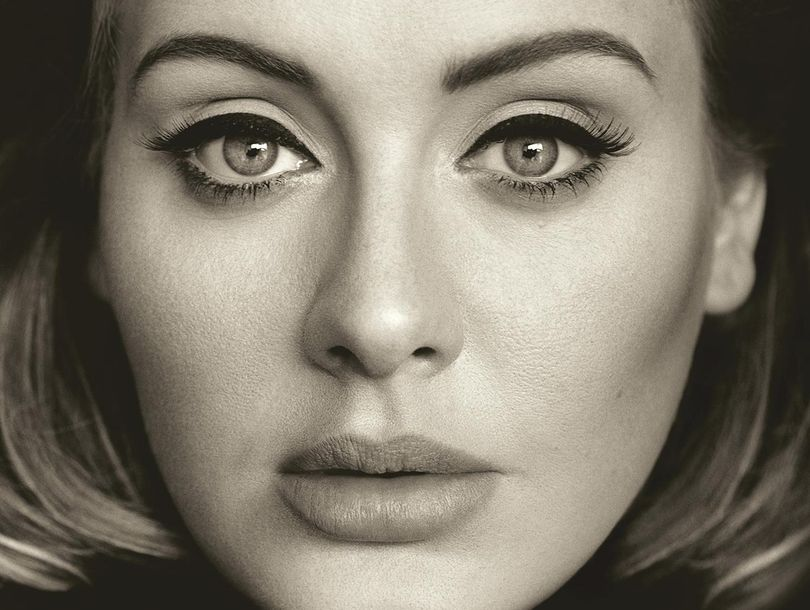 """This CD cover image released by Columbia Records shows, """"25,"""" the latest release by Adele. The singers hotly anticipated album is out Friday. (Columbia Records via AP) (Columbia Records)"""