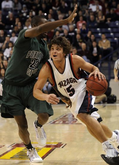 The Spokesman-Review Junior guard Matt Bouldin is a key reason Gonzaga has won its first 10 games in the WCC, making him a leading candidate for conference player of the year. (Dan Pelle / The Spokesman-Review)