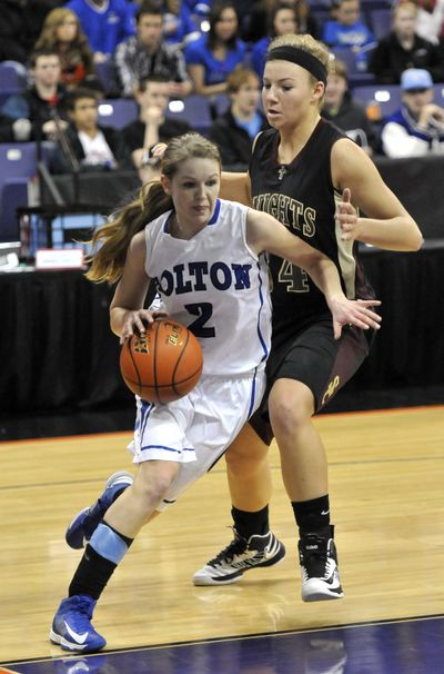 Jenna Moser was 2013's State 1B Player of the Year. (Jesse Tinsley)