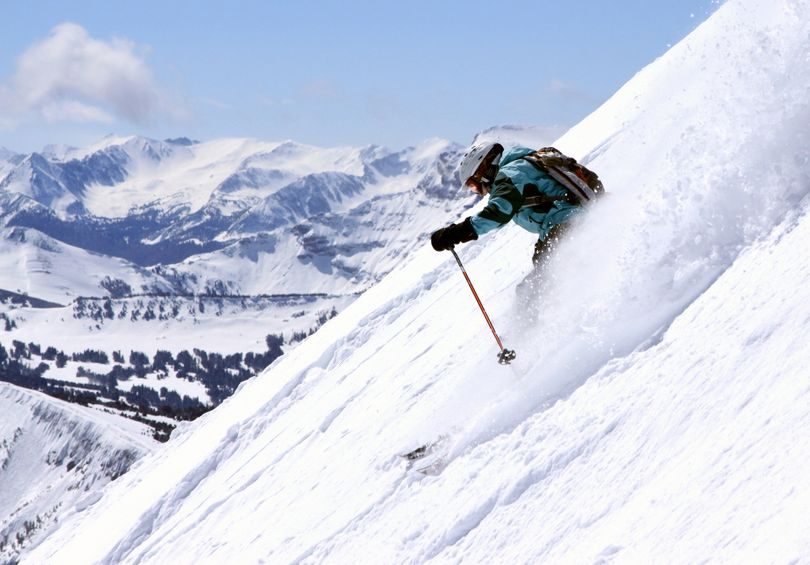 Big Sky ski area in Montana has become a mega-resort by merging three resorts. (Lonnie Ball )
