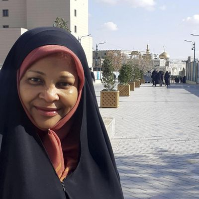 American-born news anchor Marzieh Hashemi. On Friday, Jan. 18, 2019, Iran's state-run English-language channel reported that its American anchorwoman detained in the U.S. will appear in court in Washington. Press TV said Marzieh Hashemi's court appearance is Friday. (Press TV)