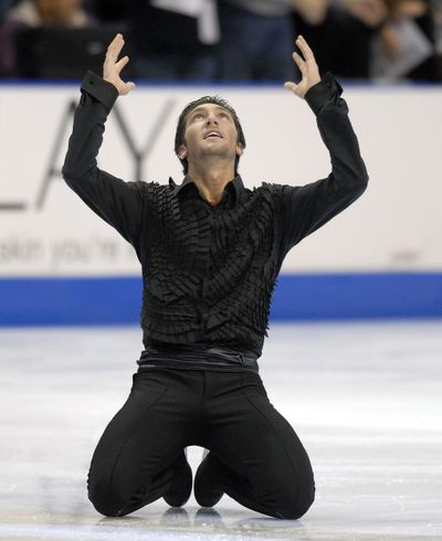 Lysacek's gold medal-clinching free skate in Spokane in 2007 helped propel him to the pinnacle of the sport.   (File)