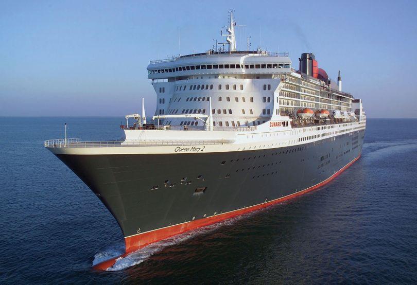 The Cunard flagship, Queen Mary 2 (Photo courtesy Cunard)