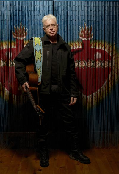 Bruce Cockburn brings his acoustic one-man show to the Bing tonight.