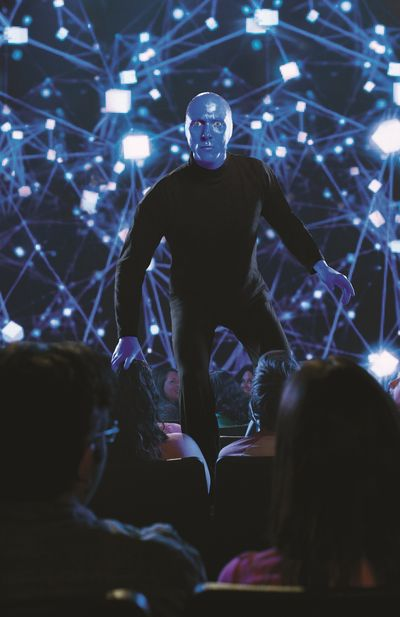 The Blue Man Group tour lands at INB Performing Arts Center starting Thursday. (Paul Kolnik)