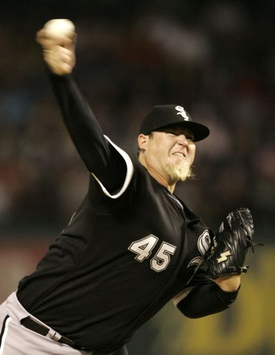 "MLB will look into Bobby Jenks ""purpose pitch.""  (Associated Press / The Spokesman-Review)"
