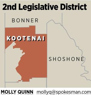 2nd Legislative District (Molly Quinn illustration)