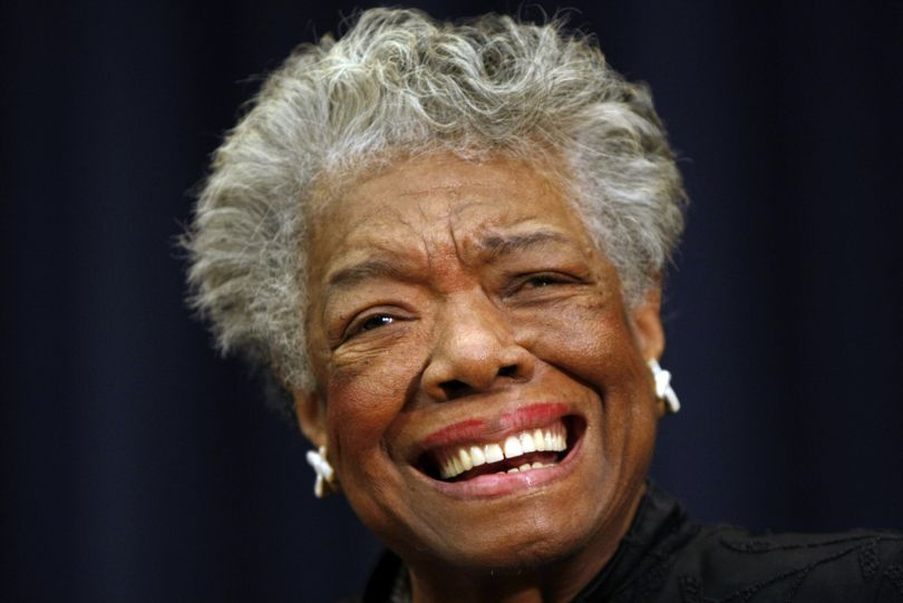 Maya Angelou attends an event in Washington in 2008. The cultural pioneer and Renaissance woman has died at 86. (Associated Press)