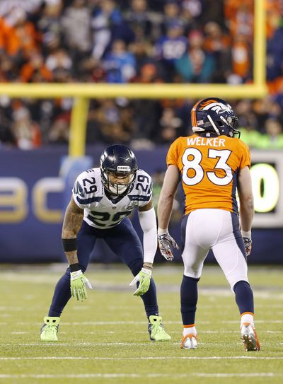Cornerback Earl Thomas, left, and the Seahawks are looking forward to a return engagement with the Panthers.