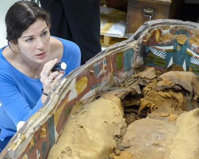 Egyptologist Kara Cooney will be in Spokane on Thursday to talk about powerful women in ancient Egypt, including Cleopatra and Nefertiti. (Marissa Stevens)