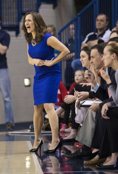 Lisa Fortier has guided the Bulldogs to a 26-7 record, including two NCAA tournament wins and a chance at the Elite Eight. (Colin Mulvany)