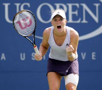 Upstart Melanie Oudin, 17, from Marietta, Ga., is in quarterfinals.  (Associated Press / The Spokesman-Review)