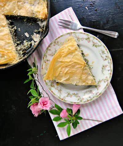 If little hands are helping to make this for Mother's Day, they'll get a kick out of squeezing the moisture from the spinach. (Gretchen McKay/Post-Gazette / Gretchen McKay/Tribune News Service)